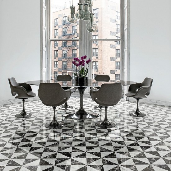 BISAZZA MARBLE COLLECTION POSTUMIA GHIACCIO
