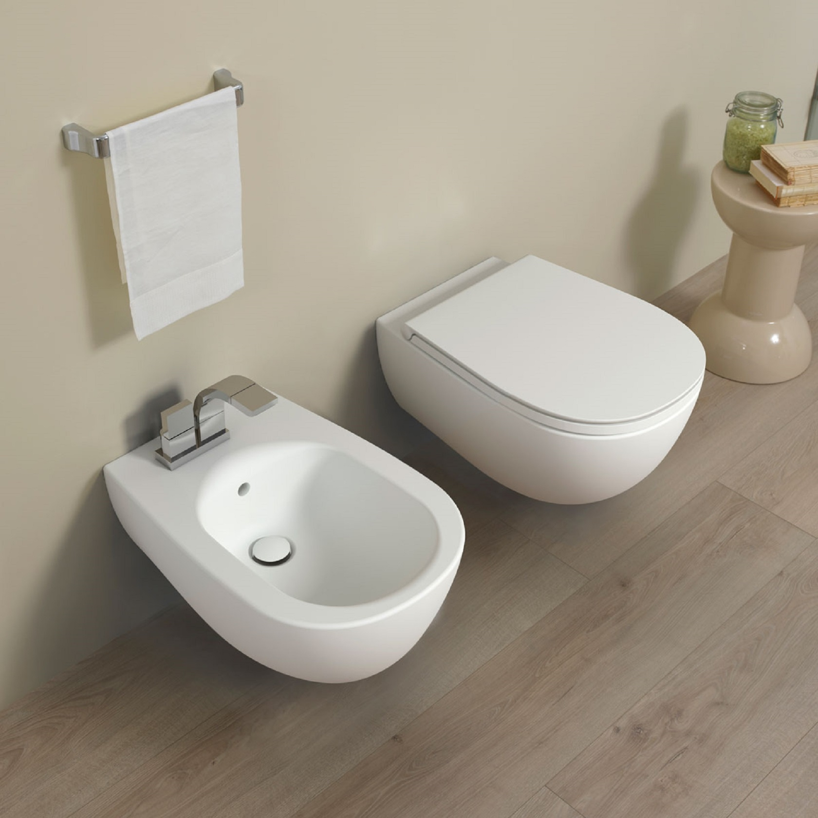 FLAMINIA IO 2.0 WALL HUNG WC GOCLEAN - TattaHome