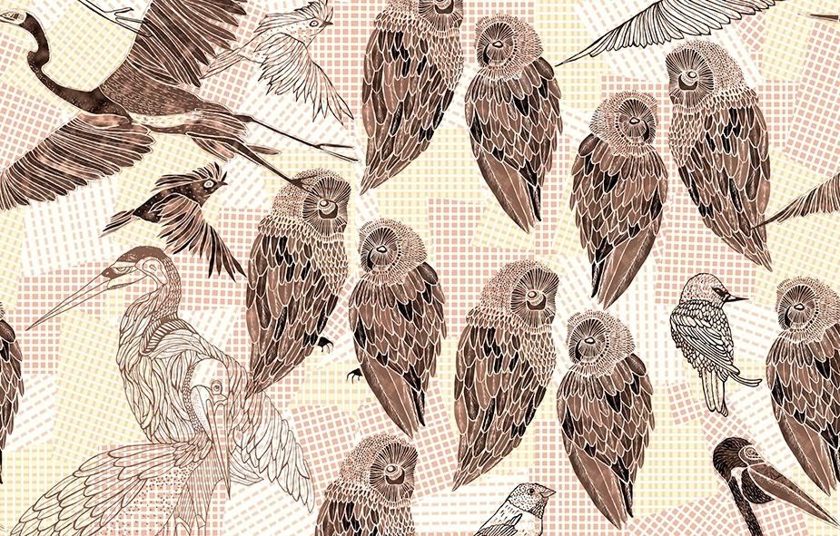 PENCIL BIRDS WDPB1602